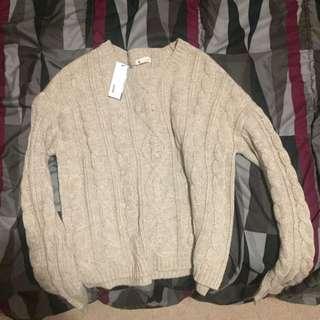 garage sweater size xs
