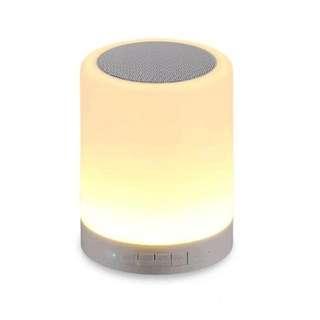Newest Touch Smart Wireless Bluetooth Speaker Mood Lamp