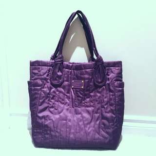 Purple Nylon Marc By Marc Jacobs Tote Bag