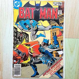 DC Comics Batman 322 Very Fine Condition UK Pence Variant  Captain Boomerang