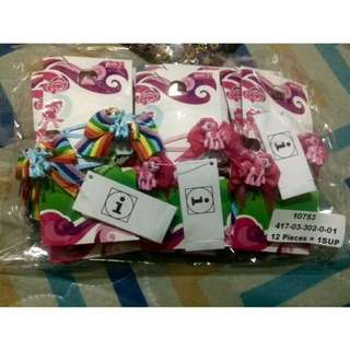 Authentic My Little Pony Hair Clips