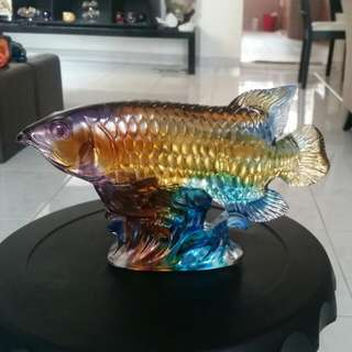 Gu Fa Liu Li Arowana For Good Luck