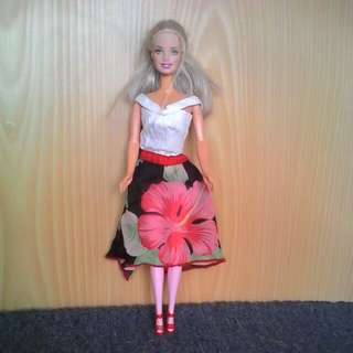 Preloved  Barbie Doll # 10