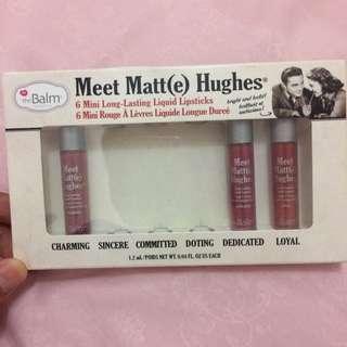 the balm mini liquid lipsticks