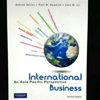 International Business Textbook (IB) - An Asia Pacific Perspective