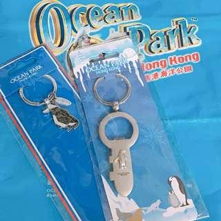 香港海洋公園 鑰匙圈