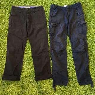日本 Lowrys Farm 束口褲 工作褲 休閒褲