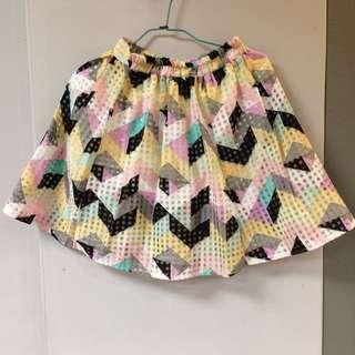 歐根紗彩色澎裙