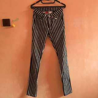 Stripped H&M Jeans