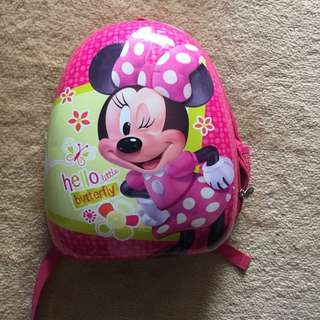 Minnie Mouse Hard Backpack