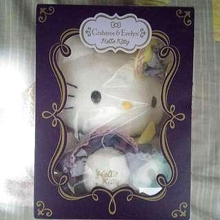 """未拆袋,未開封,100%新。 """"Crabtree & Evelyn x Hello Kitty """" 2012 限量版,有香味,Iris Kitty, 紫色"""