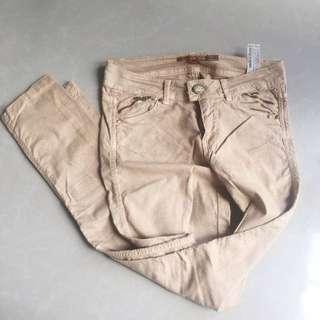 Bershka Pants in Brown