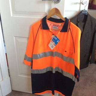 High Vis Hard Yakka Shirt
