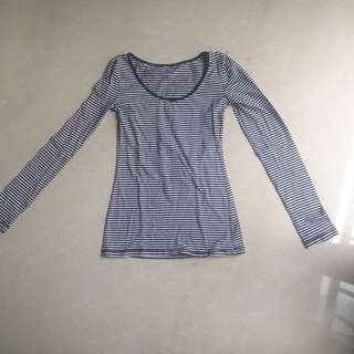 Cotton On Long Sleeve Shirt in Navy