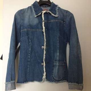 Preloved Women Denim Jacket - 100% Authentic REPLAY