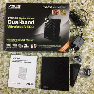 Asus RT-N56U Dual-band Wireless-N Gigabit Router