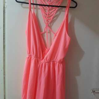 Pink Body Suit Never Worn