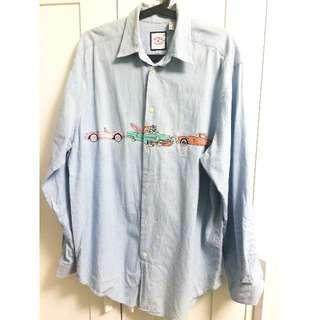 [降價] 牛仔男友襯衫