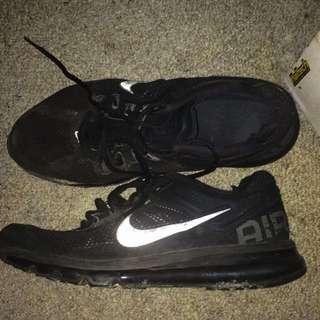 Nike Air Max 2013 All Black Mens