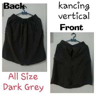 Rok All Size - selutut Dark Grey
