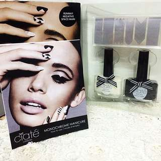 AUTHENTIC CIATE LONDON MONOCHROME MANICURE
