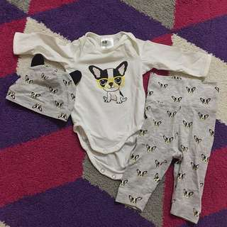 H&M Newborn Set