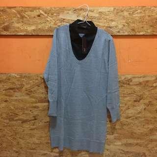 Grey Sweter 2ME Korea