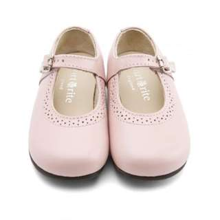 Start Rite Clare Shoes (Pink Girls Buckle English Classics)