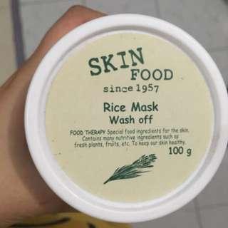 SKINFOOD RICE MASK WASH OFF ORIGINAL