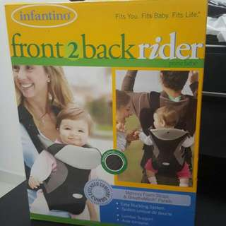 Front And Back Rider