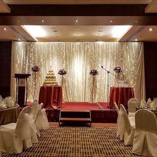 FOR RENT: Fairy Lights Stage Backdrop