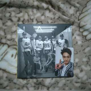 EXO 02 Repackage (Love Me Right) with Photocard Chen