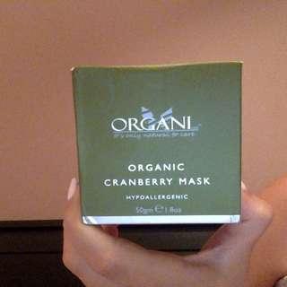 ORGANI Organic Cranberry Mask (unopened)