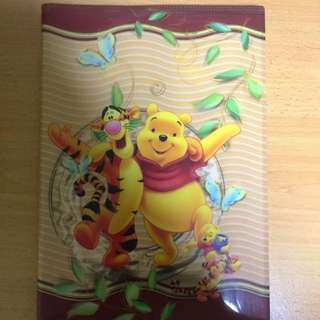 Disney Winnie The Pooh And Friends Notebook
