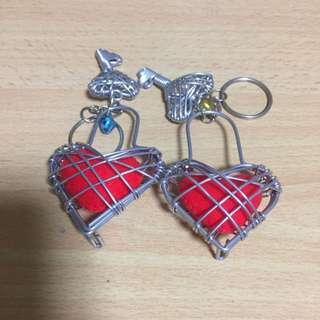 Heart Shaped Keychains