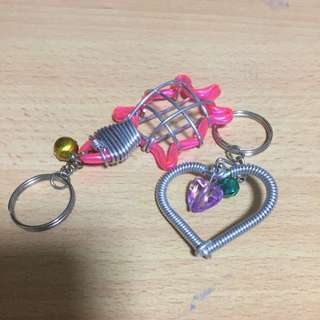 Cute Wire Keychains