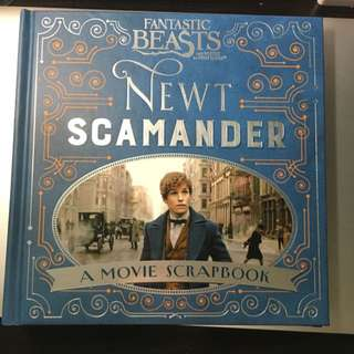 Newt Scamander: A Movie Scrapbook
