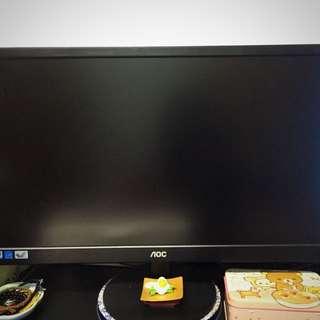 AOC21.5吋八成新二手螢幕