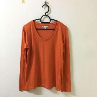 Colorbox Long Shirt (orange)