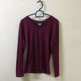 Colorbox Long Shirt (dark Purple)