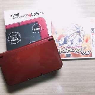 N3DS LL +神奇寶貝遊戲(太陽)