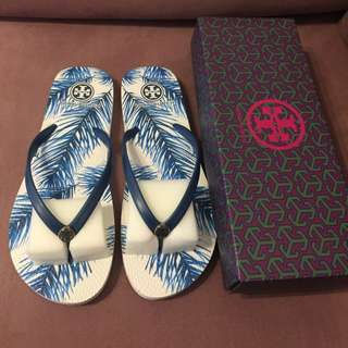 Brand New Authentic Tory Burch Thin Flip Flops
