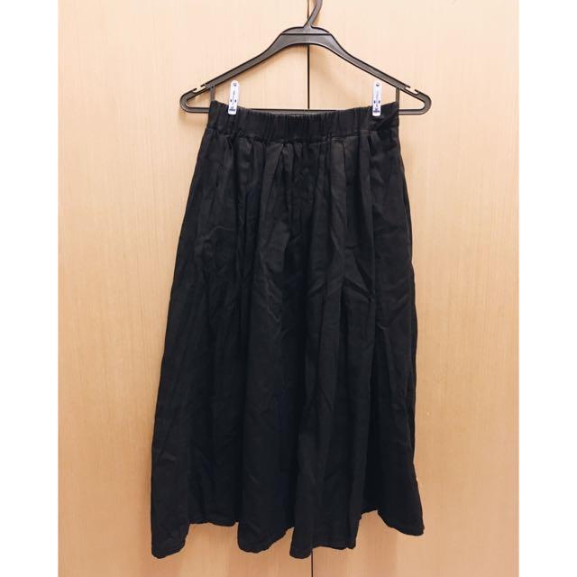 黑色長裙(棉)
