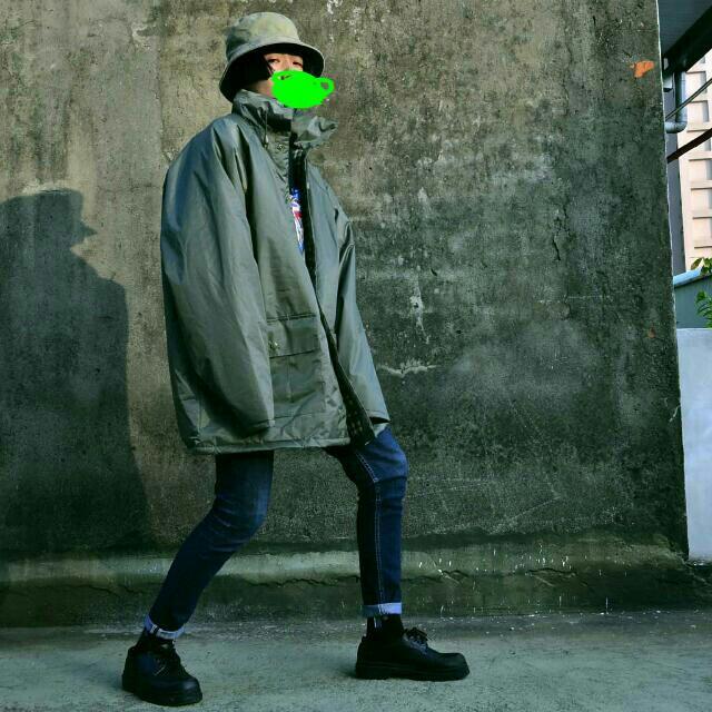 香港購入古著 風衣外套