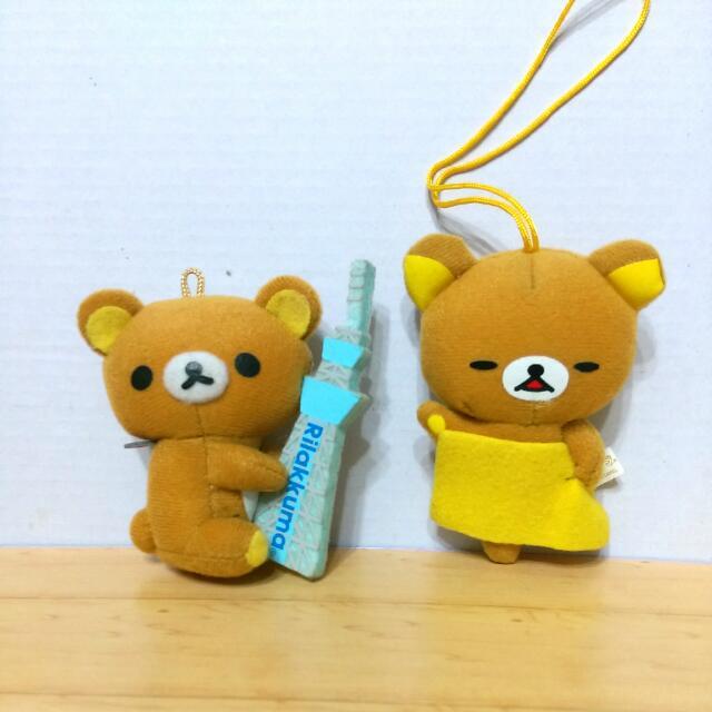 拉拉熊 晴空塔 吊飾 玩偶 布偶 娃娃