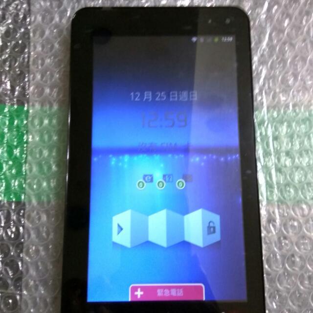 台灣大哥大 TWM myPad P4 Lite 7吋 雙核可通話平板電腦