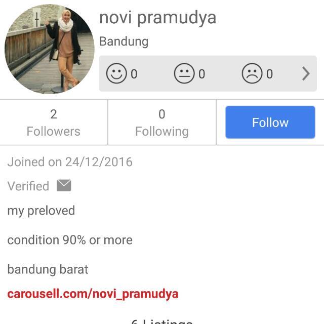 Akun Penipu Online ! Beware
