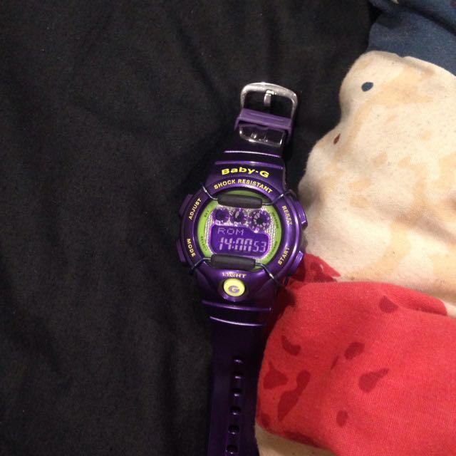 Baby G Casio (Purple)