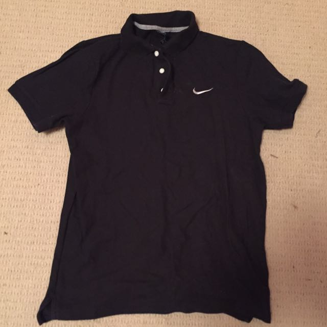 Black Nike Polo