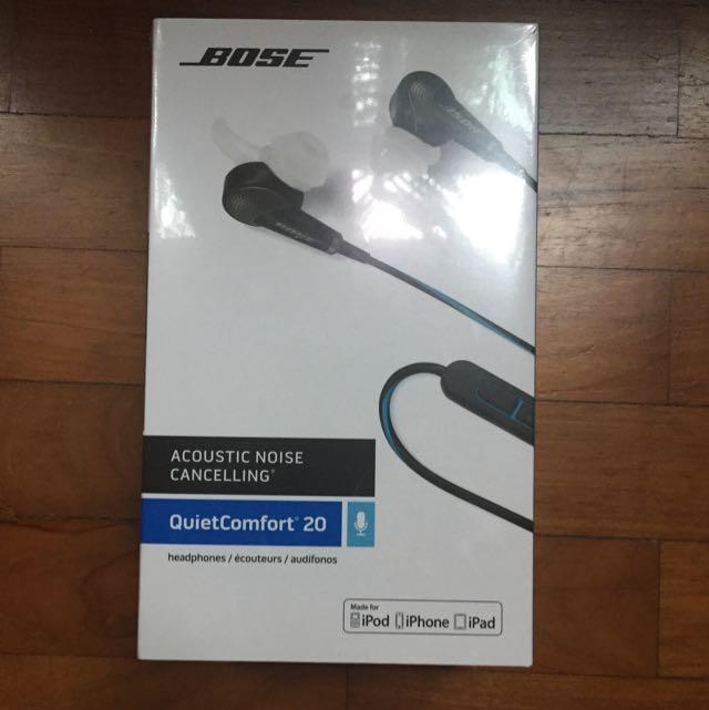 3a1db903350 Bose QuietComfort 20 Acoustic Noise Cancelling Headphones ...